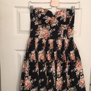 Angie Floral Cocktail Dress